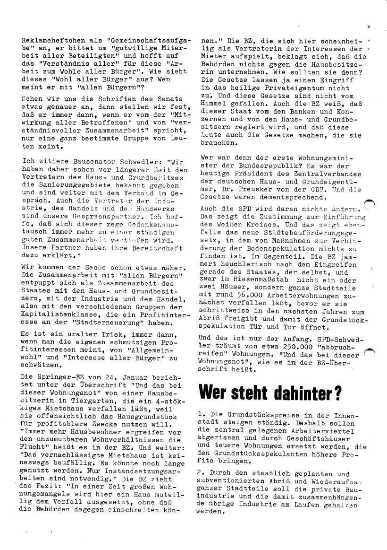 Roter Morgen, 4. Jg., Sonderdruck, März 1970, Seite 8