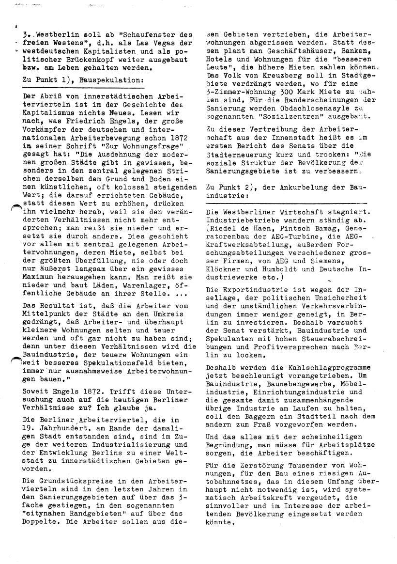 Roter Morgen, 4. Jg., Sonderdruck, März 1970, Seite 9