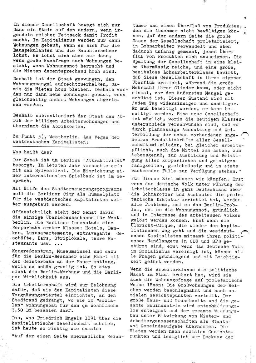Roter Morgen, 4. Jg., Sonderdruck, März 1970, Seite 10