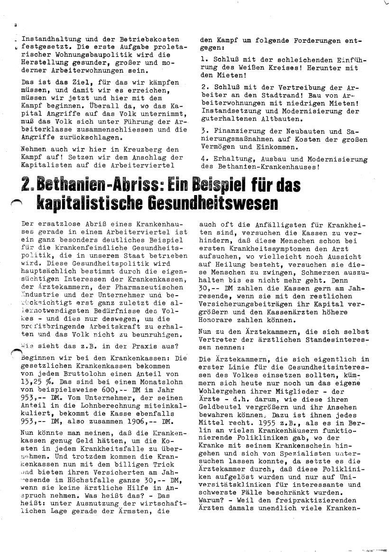 Roter Morgen, 4. Jg., Sonderdruck, März 1970, Seite 11