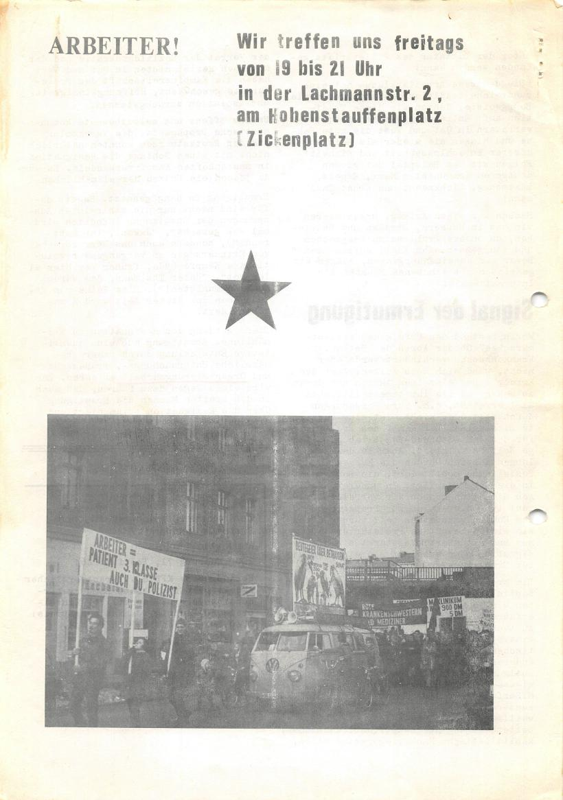 Roter Morgen, 4. Jg., Sonderdruck, März 1970, Seite 16