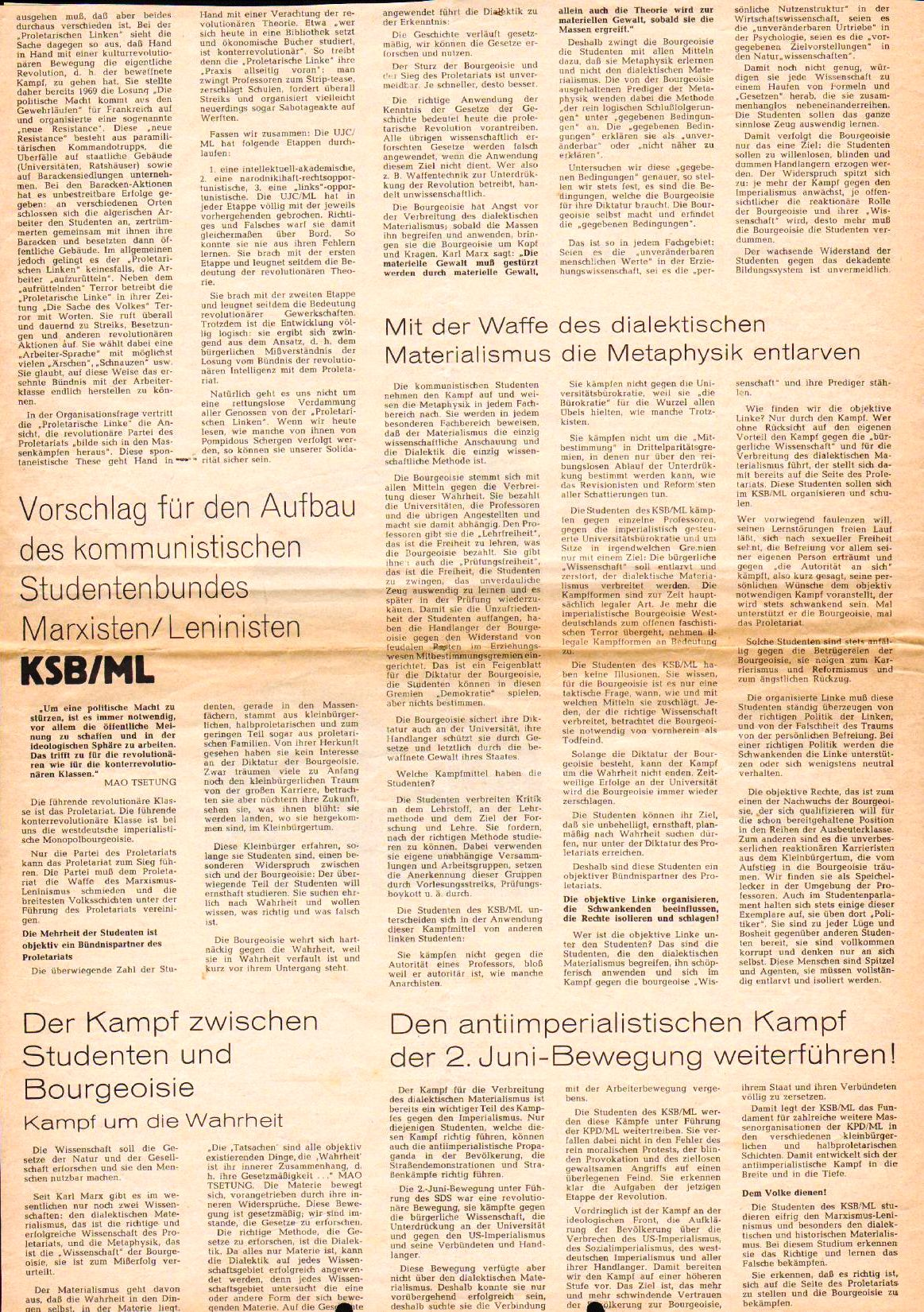 Roter Morgen, 4. Jg., August 1970, Nr. 7, Seite 6