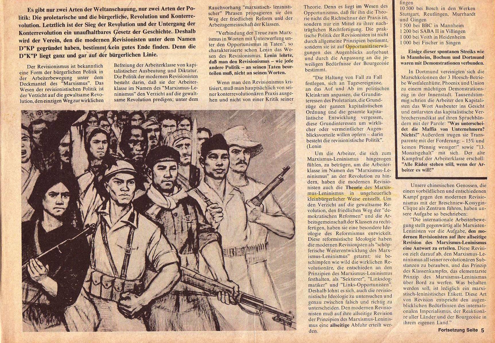 Roter Morgen, 4. Jg., Oktober 1970, Nr. 9, Seite 1b