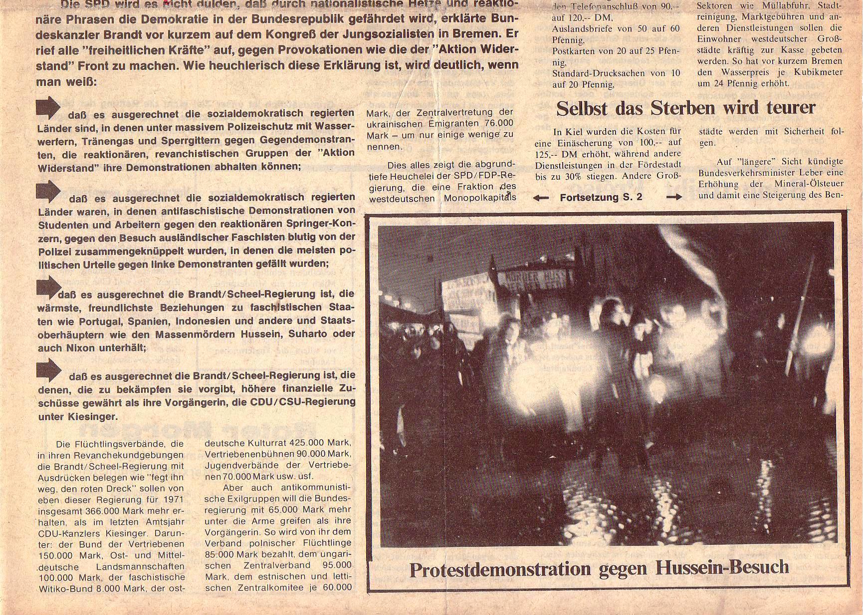 Roter Morgen, 5. Jg., Januar 1971, Nr. 1, Seite 1b