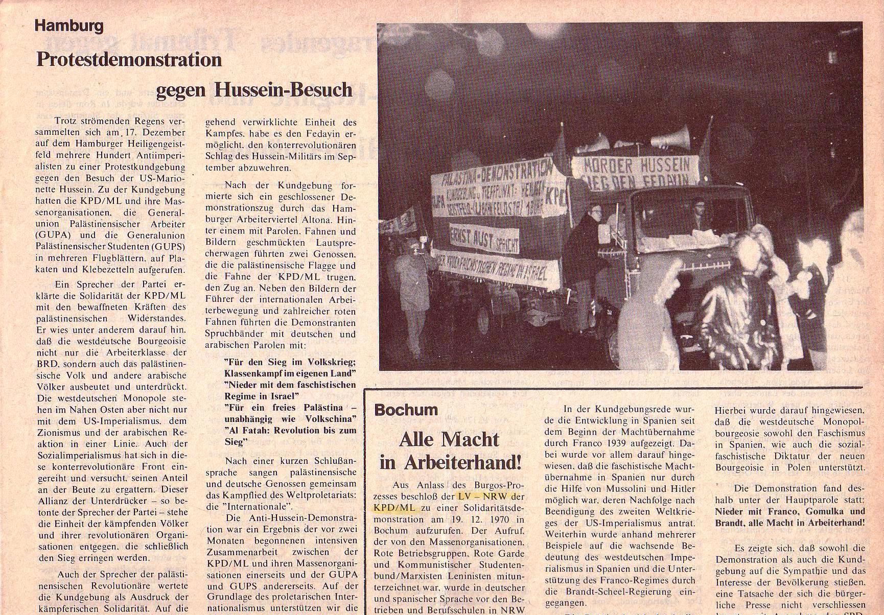 Roter Morgen, 5. Jg., Januar 1971, Nr. 1, Seite 5a