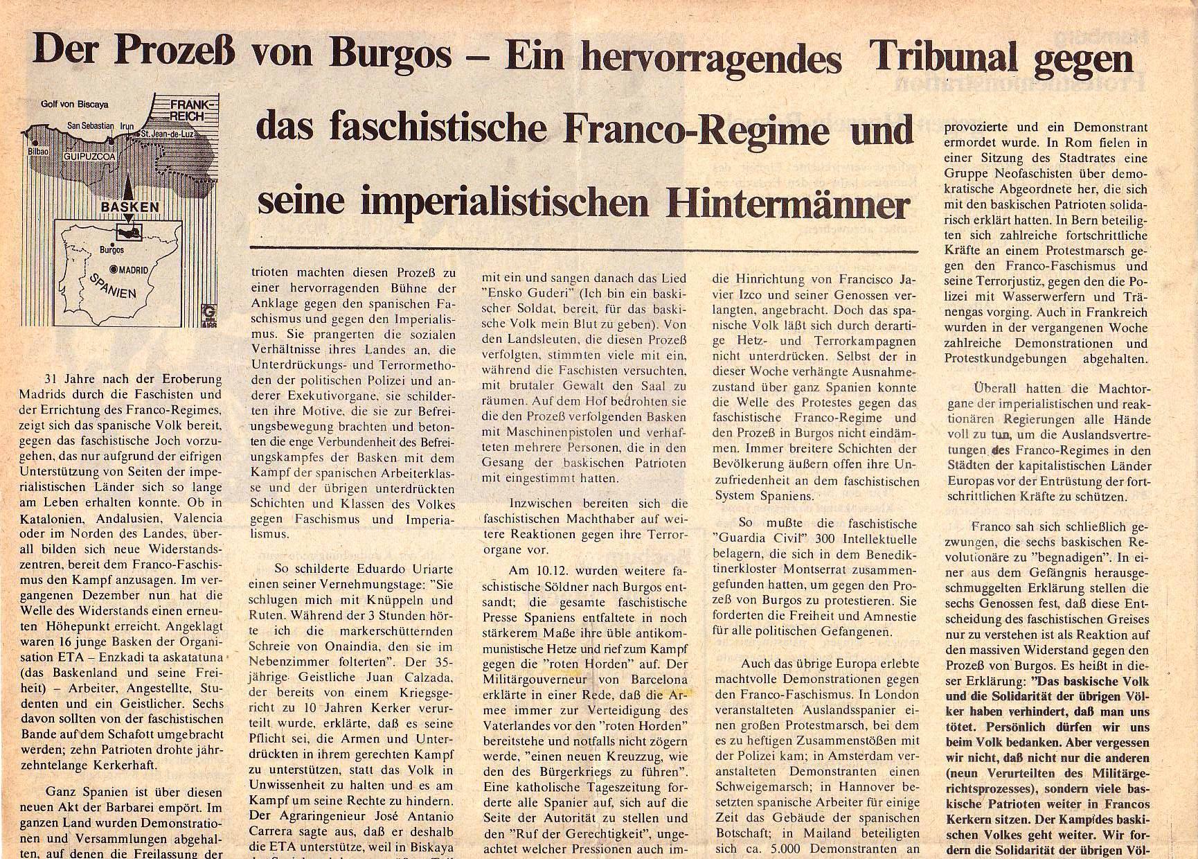 Roter Morgen, 5. Jg., Januar 1971, Nr. 1, Seite 6a