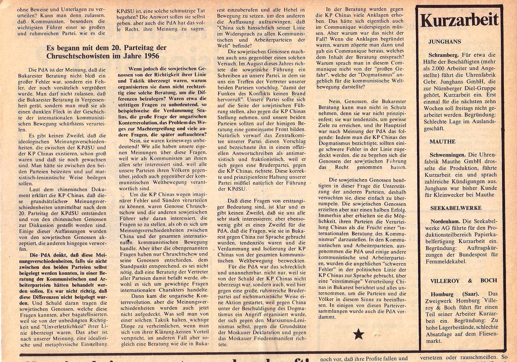 Roter Morgen, 5. Jg., Februar 1971, Nr. 2, Seite 5a