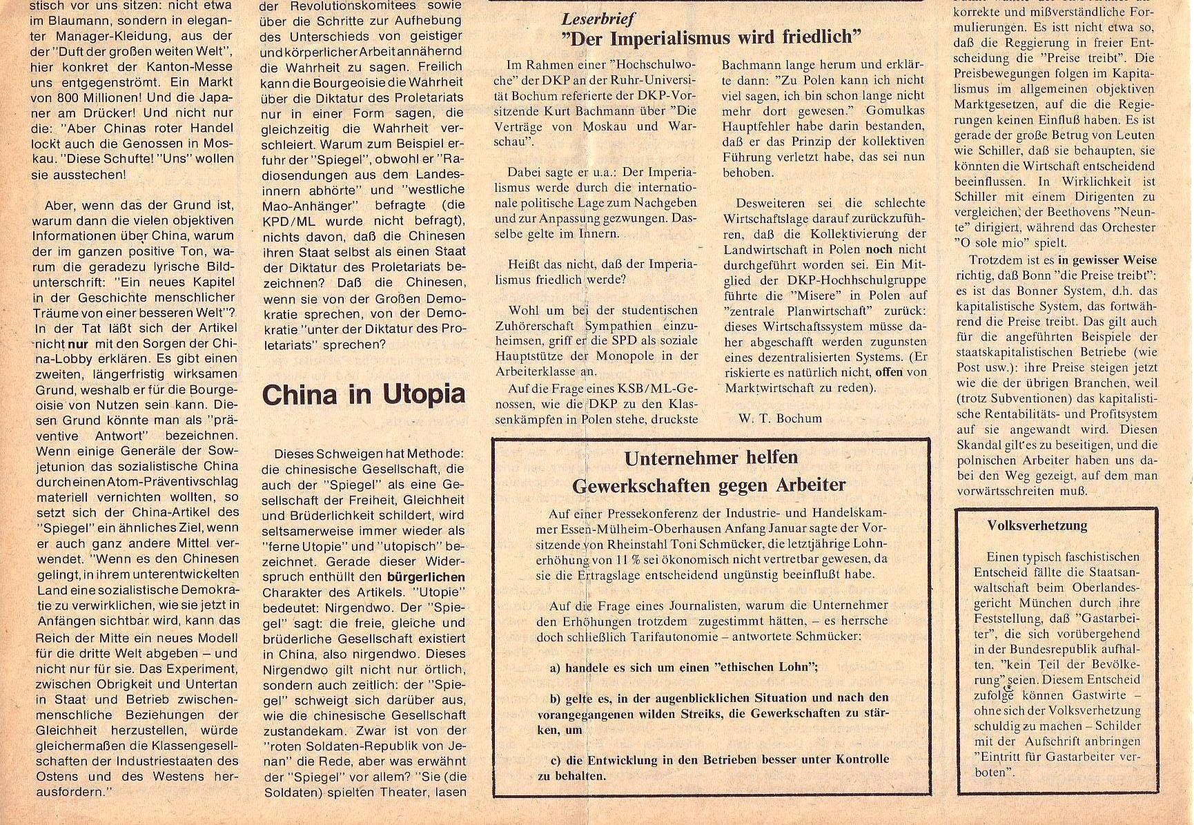 Roter Morgen, 5. Jg., Februar 1971, Nr. 2, Seite 8b