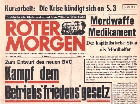 Roter Morgen, 2/1971
