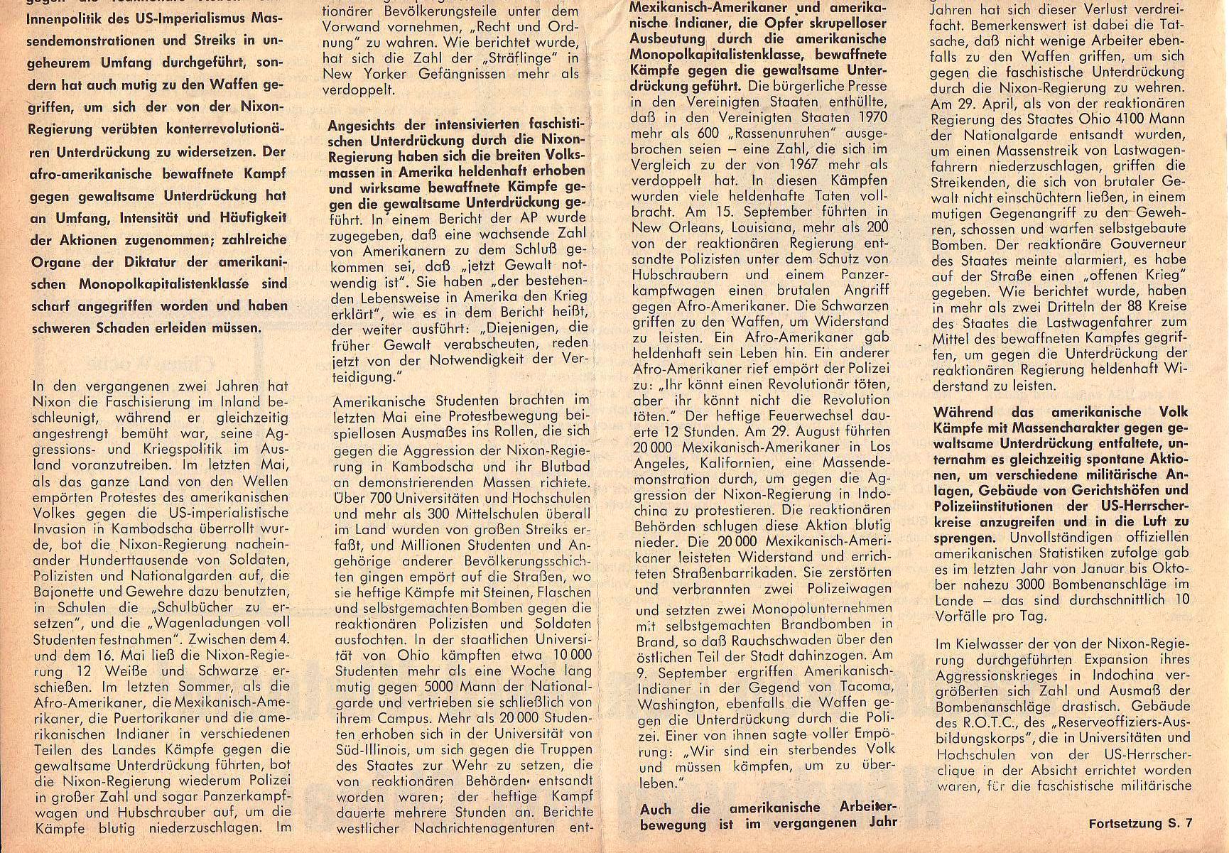 Roter Morgen, 5. Jg., März 1971, Nr. 3, Seite 6b