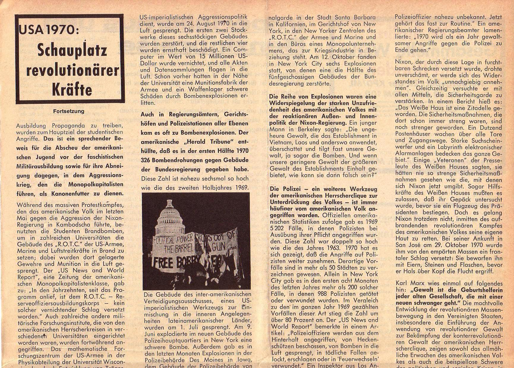 Roter Morgen, 5. Jg., März 1971, Nr. 3, Seite 7a