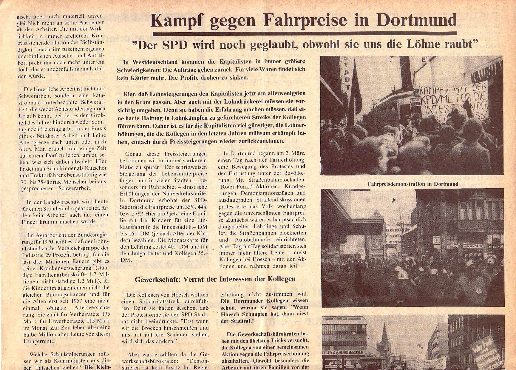Roter Morgen, 5. Jg., April 1971, Nr. 4, Seite 3a