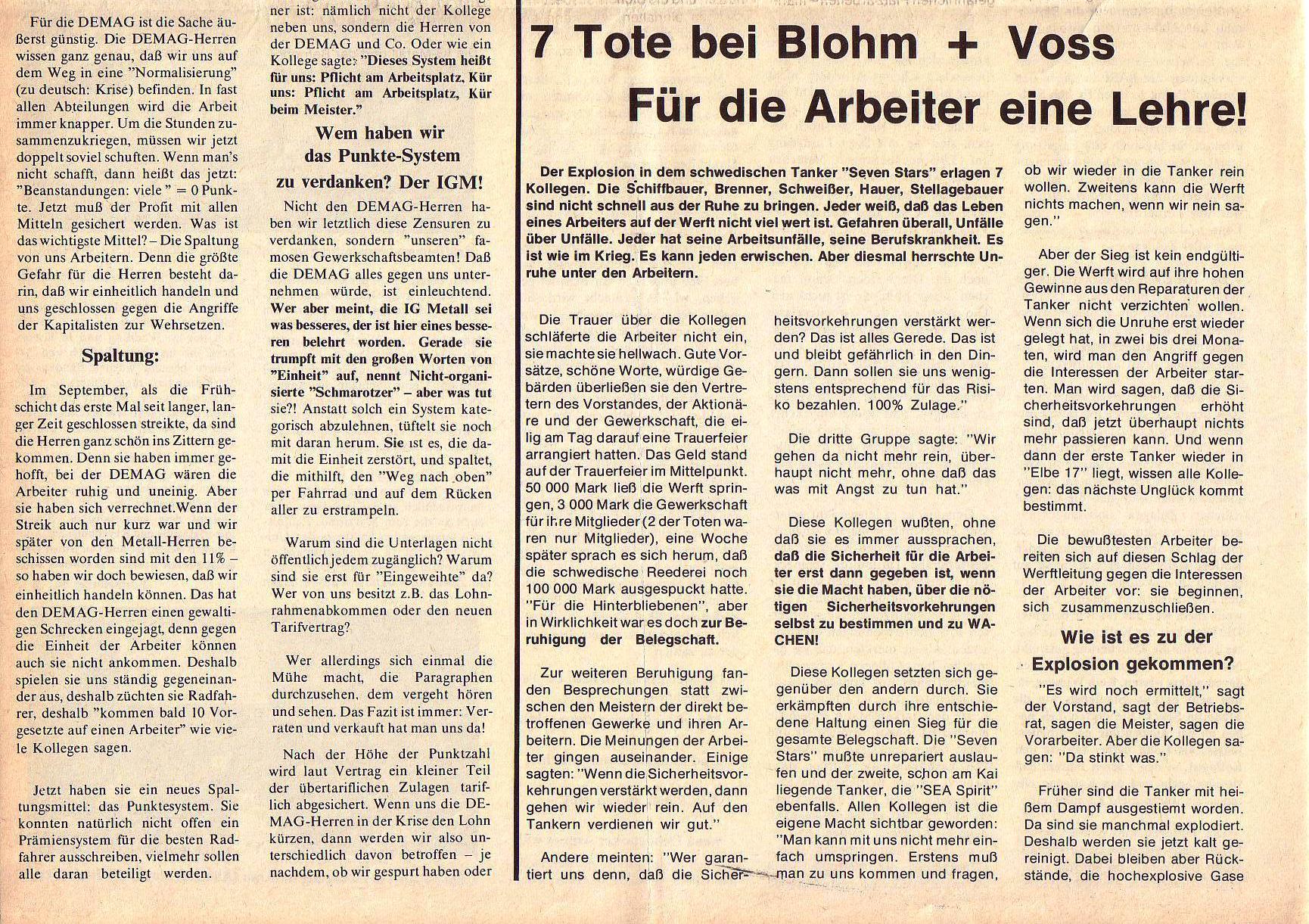Roter Morgen, 5. Jg., April 1971, Nr. 4, Seite 6b