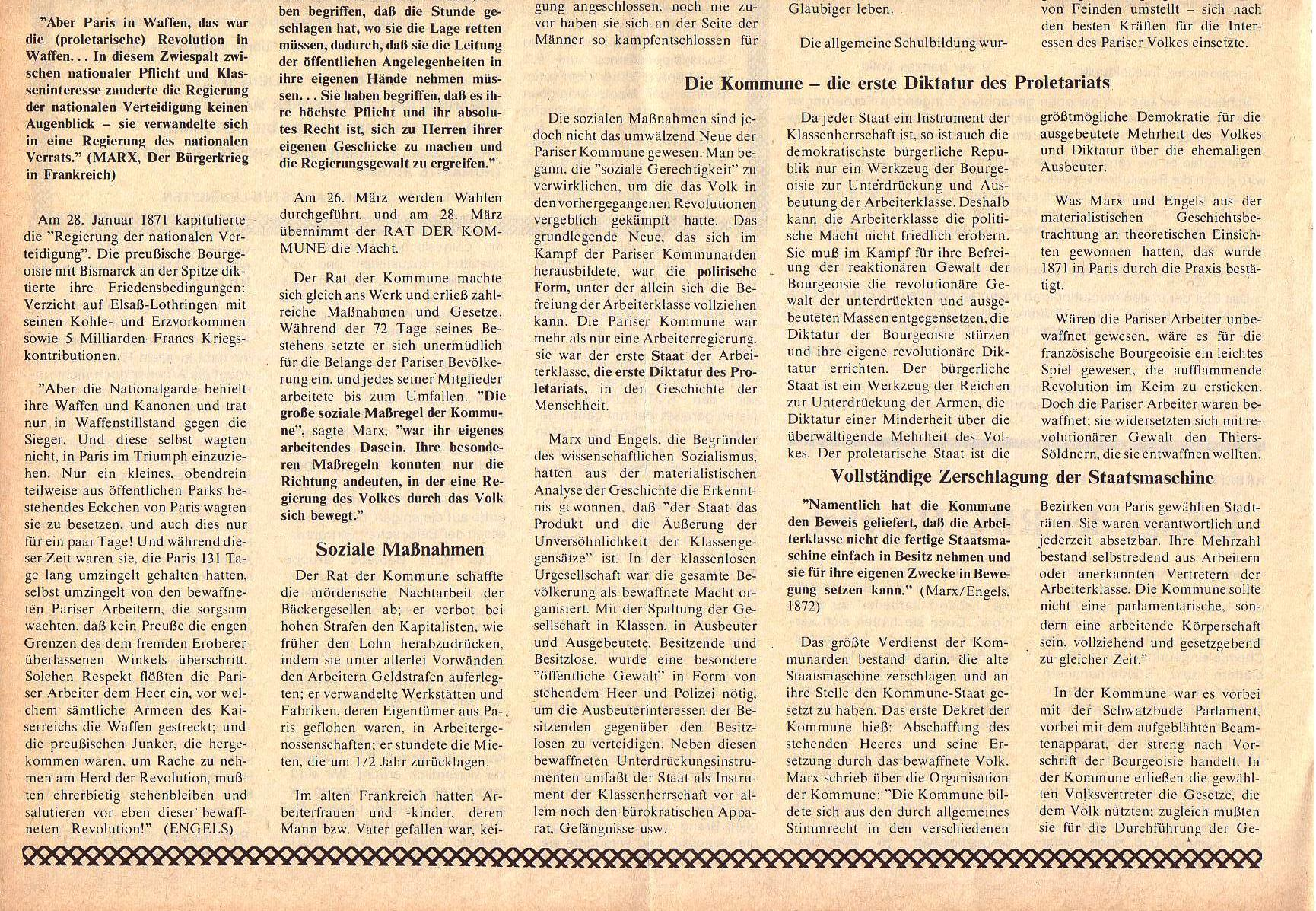Roter Morgen, 5. Jg., April 1971, Nr. 4, Seite 10b