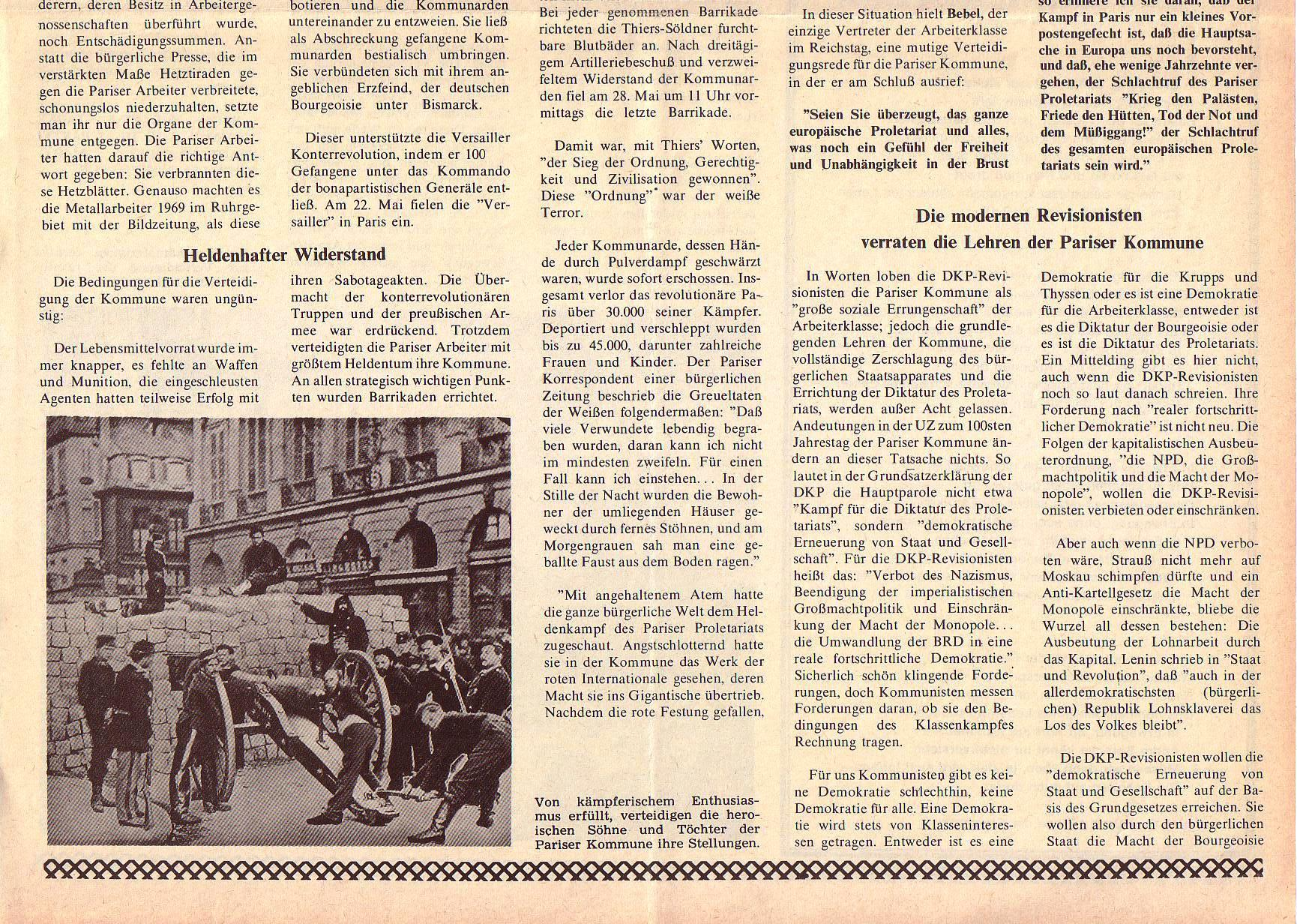 Roter Morgen, 5. Jg., April 1971, Nr. 4, Seite 11b