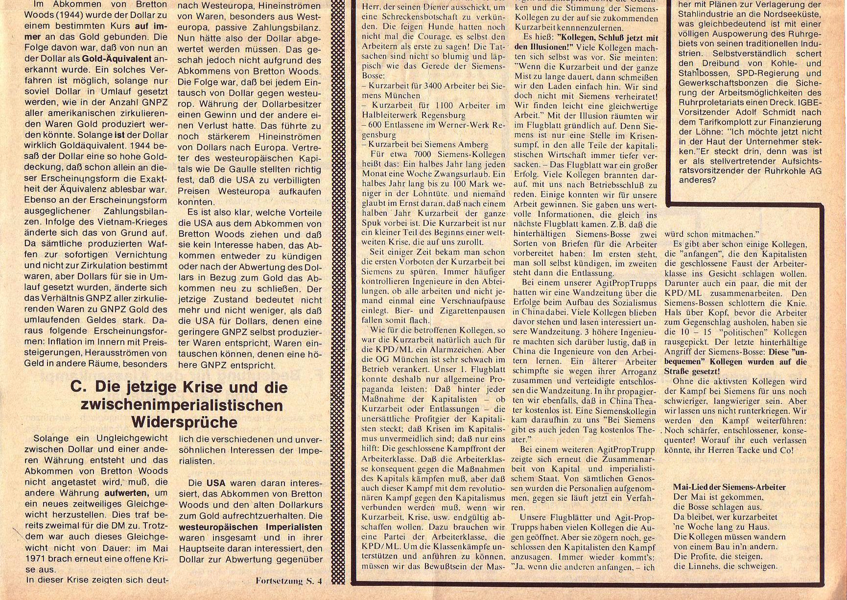 Roter Morgen, 5. Jg., Mai 1971, Nr. 5, Seite 3b