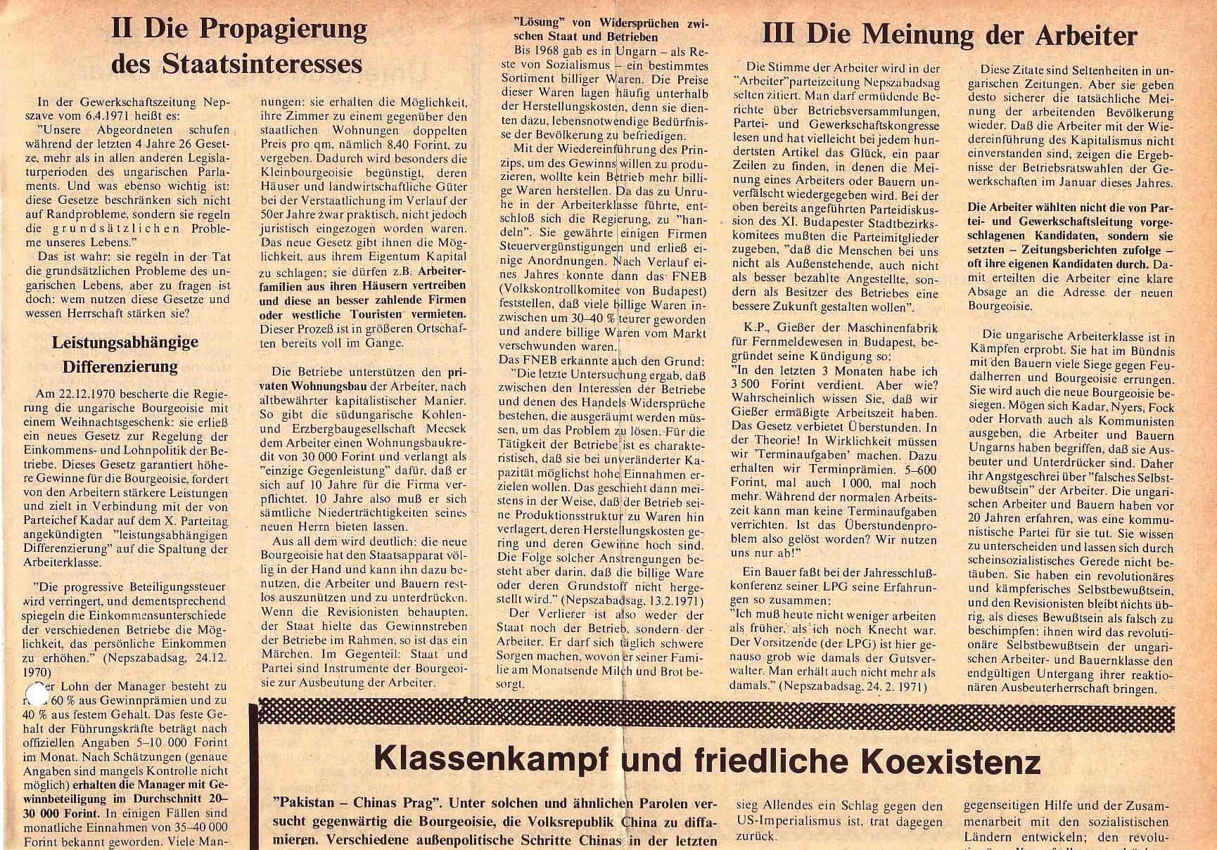 Roter Morgen, 5. Jg., Juni 1971, Nr. 6, Seite 7a