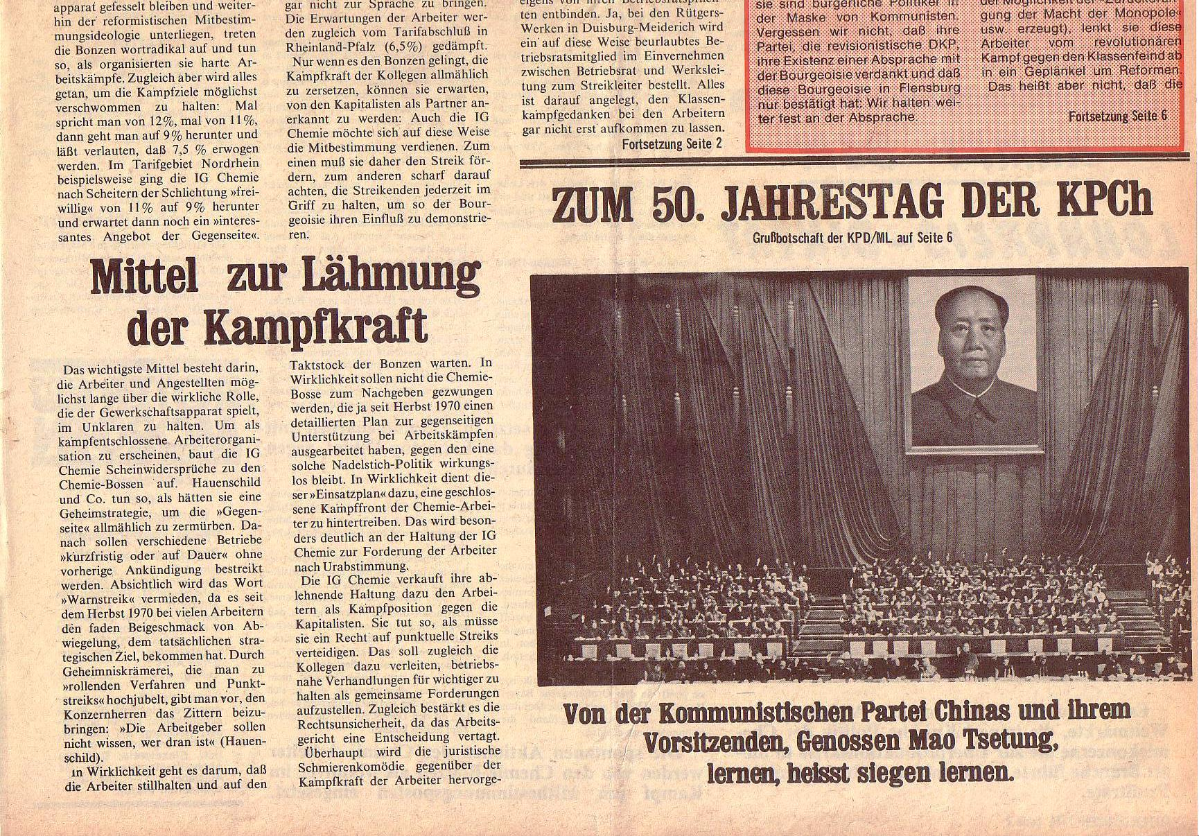 Roter Morgen, 5. Jg., Juli 1971, Nr. 7, Seite 1b