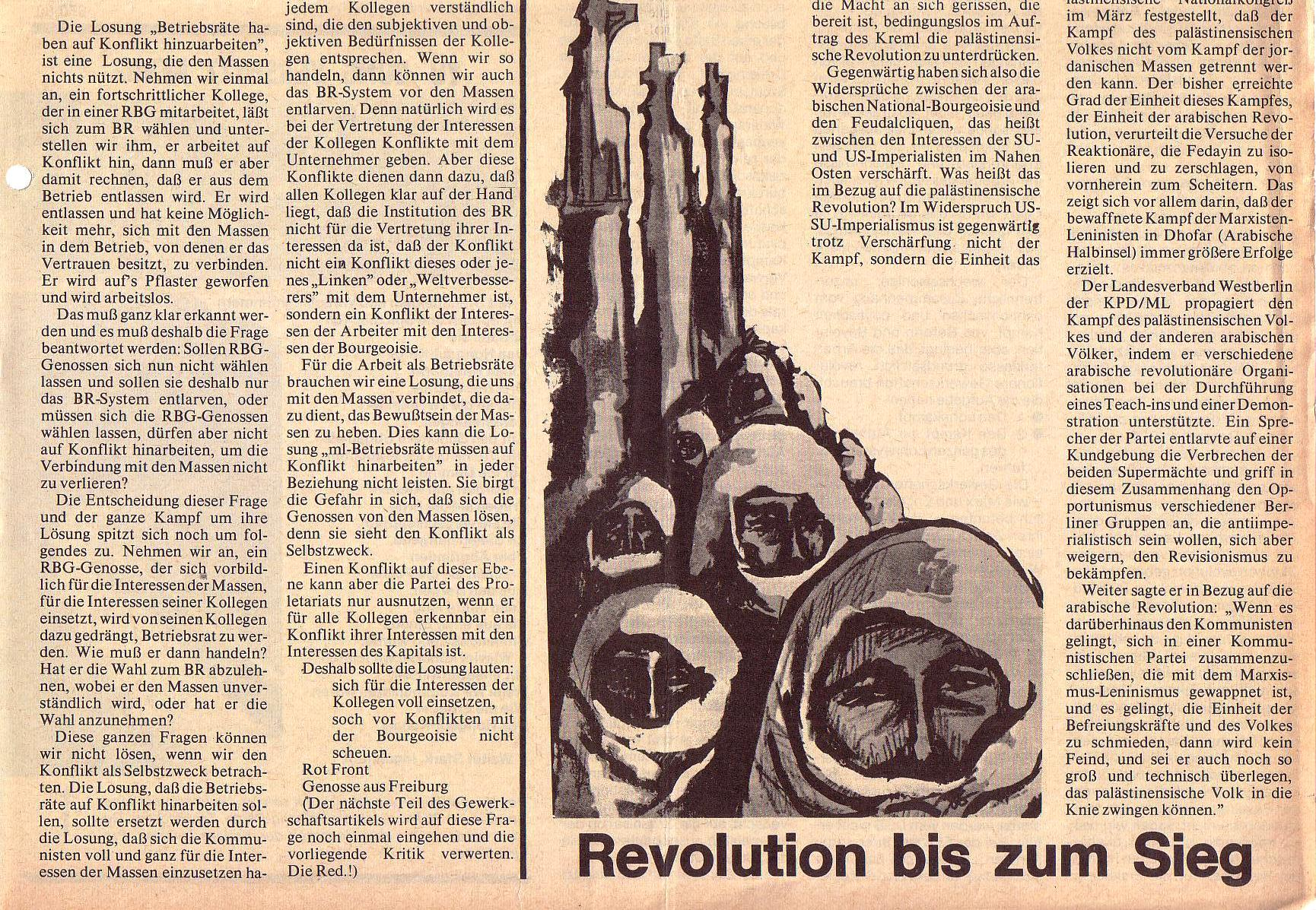 Roter Morgen, 5. Jg., August 1971, Nr. 8, Seite 5b