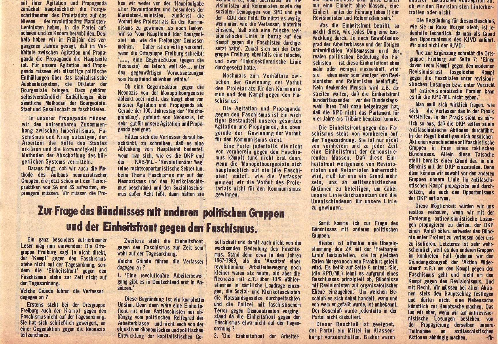 Roter Morgen, 5. Jg., 13. September 1971, Nr. 9, Seite 5b