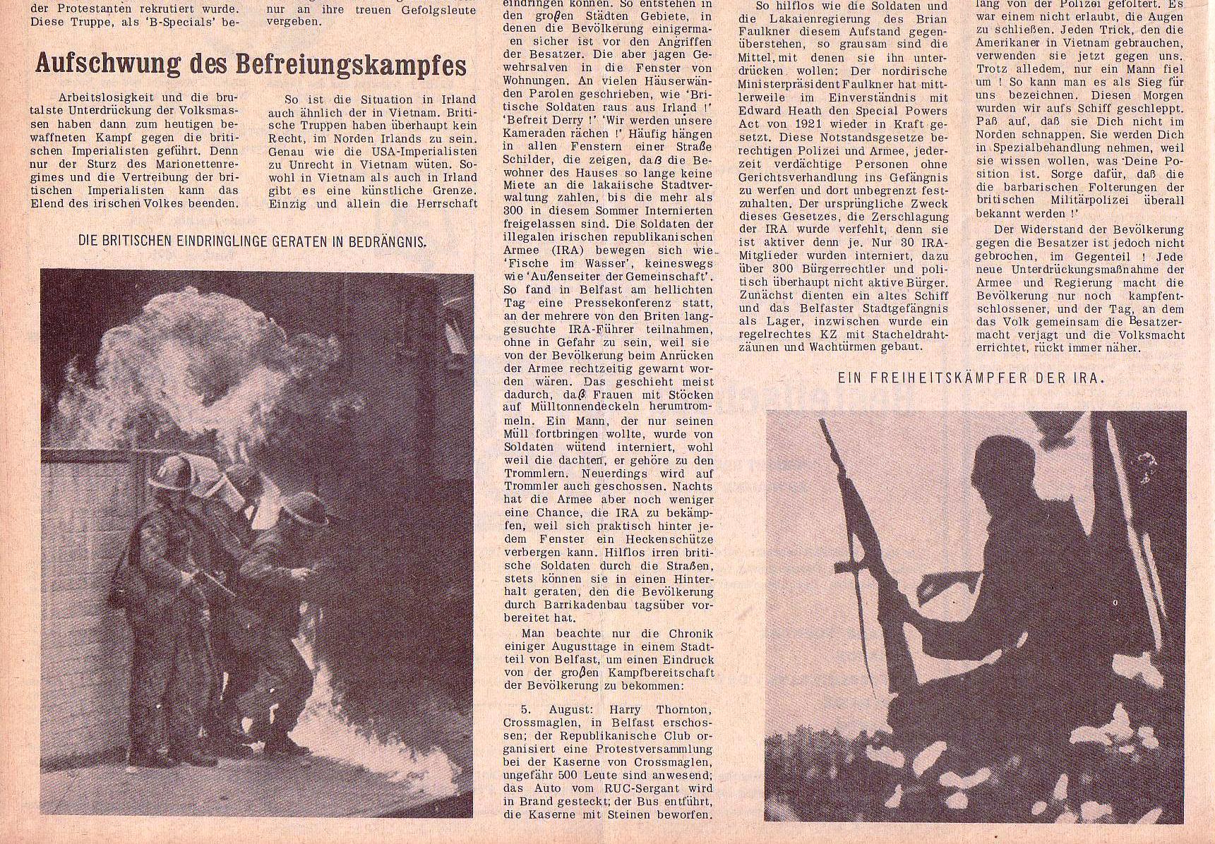 Roter Morgen, 5. Jg., 22. November 1971, Nr. 14, Seite 8b