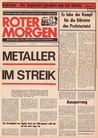Roter Morgen, 15/1971, S. 1