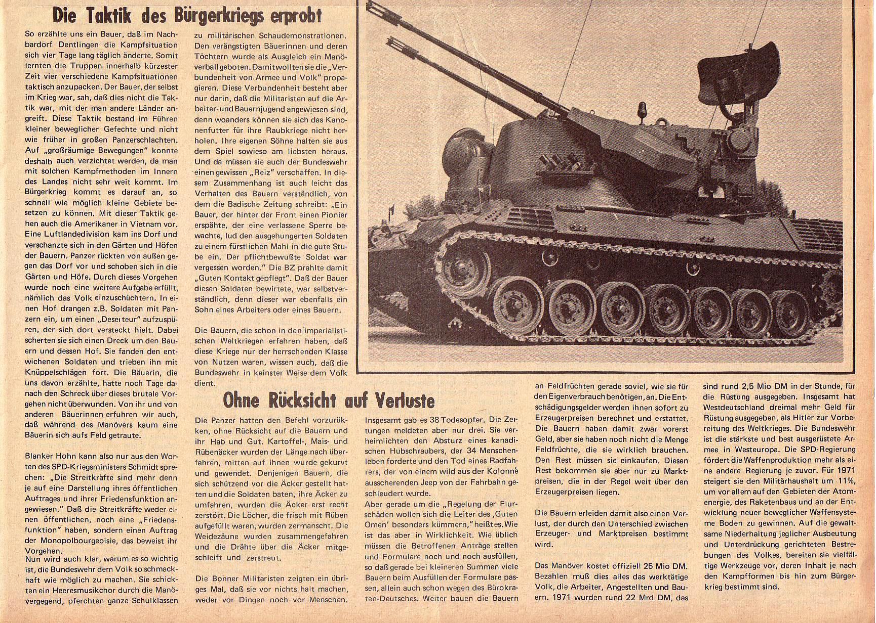 Roter Morgen, 5. Jg., 6. Dezember 1971, Nr. 15, Seite 3b