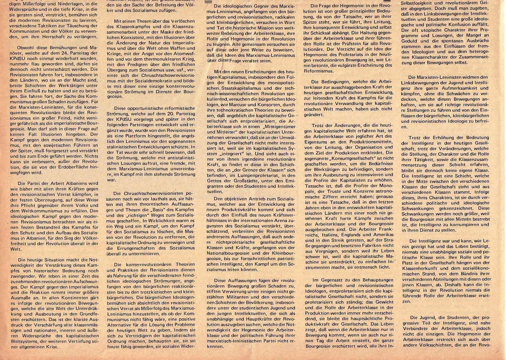 Roter Morgen, 5. Jg., 6. Dezember 1971, Nr. 15, Seite 4b