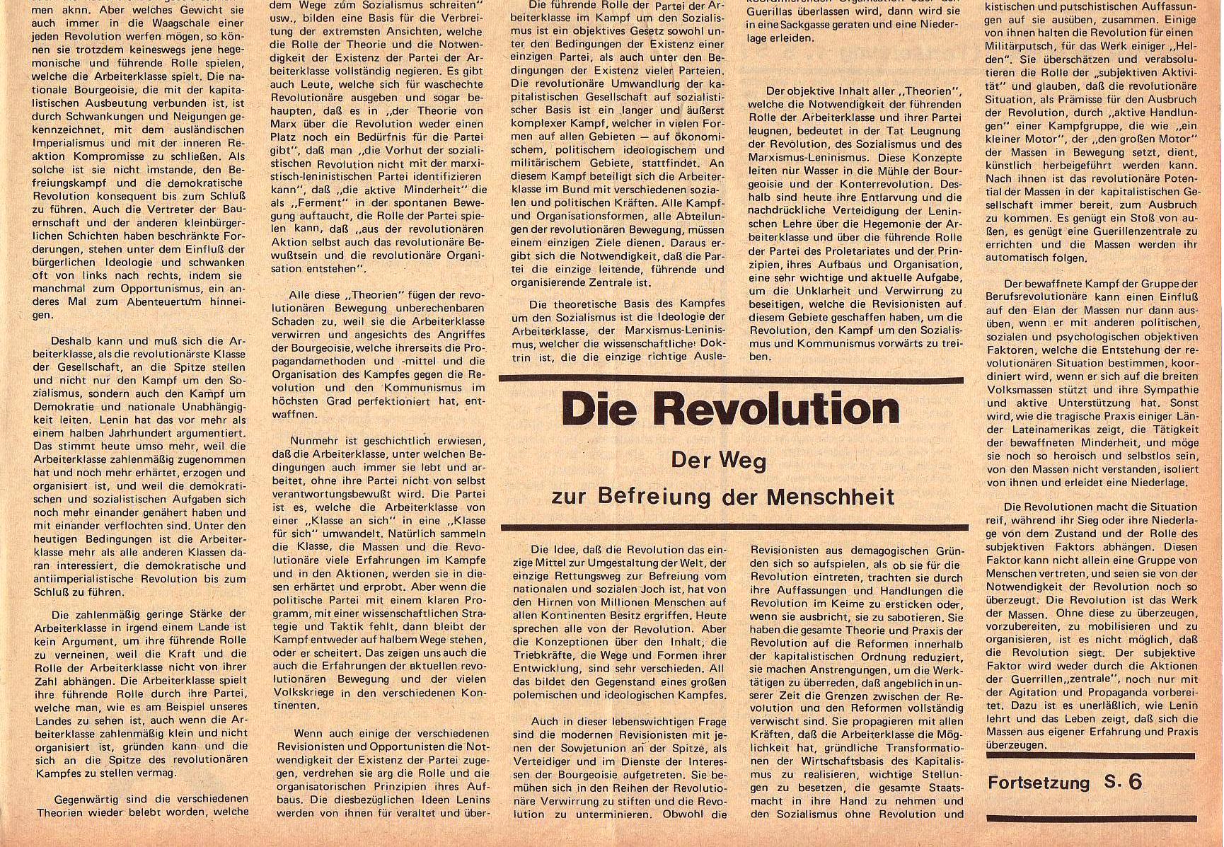 Roter Morgen, 5. Jg., 6. Dezember 1971, Nr. 15, Seite 5b