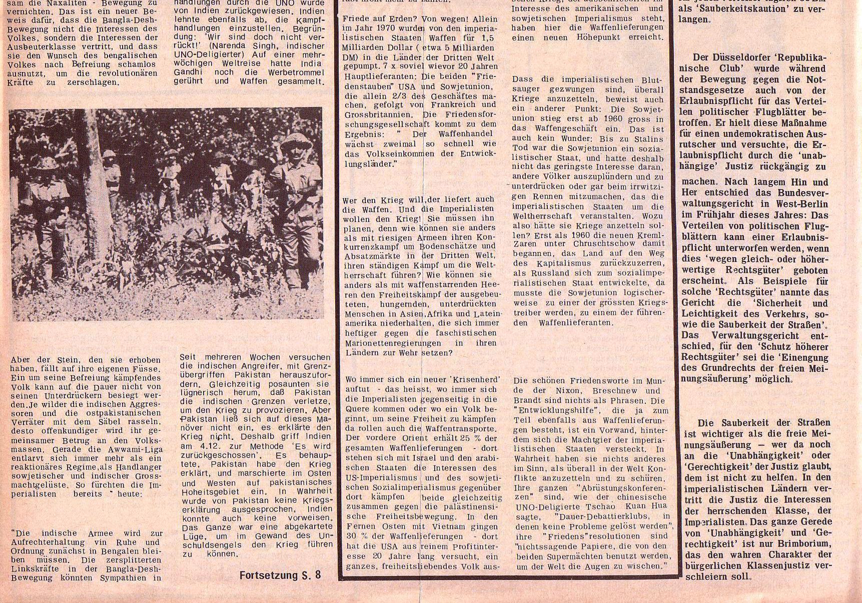 Roter Morgen, 5. Jg., 27. Dezember 1971, Nr. 16, Seite 4b