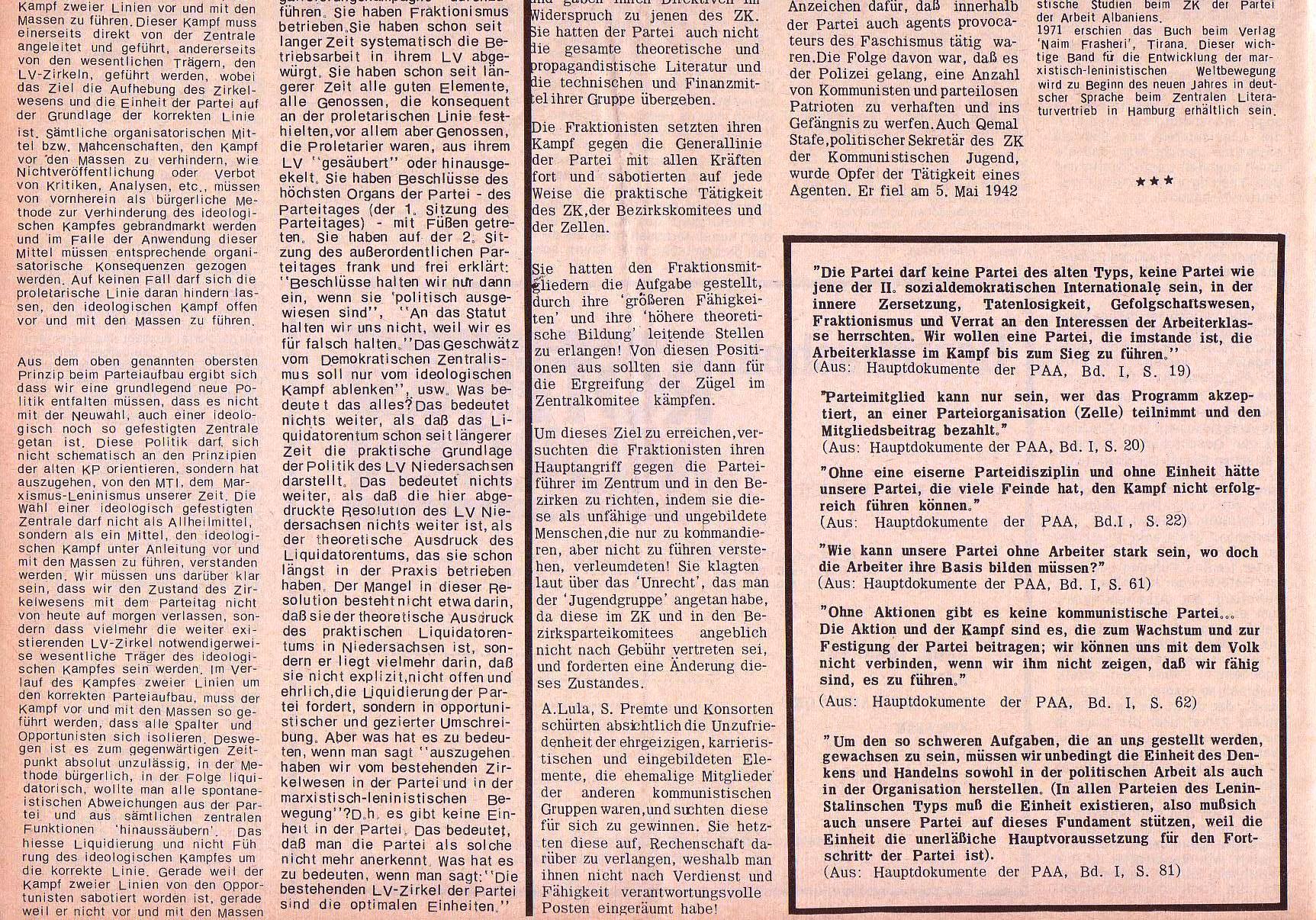 Roter Morgen, 5. Jg., 27. Dezember 1971, Sondernummer, Seite 8b