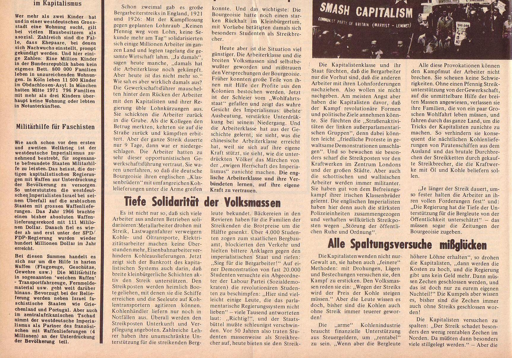 Roter Morgen, 6. Jg., 14. Februar 1972, Nr. 4, Seite 4b
