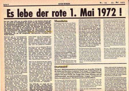 Roter Morgen, 10/1972, S. 6