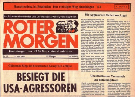 Roter Morgen, 11/1972, S. 1