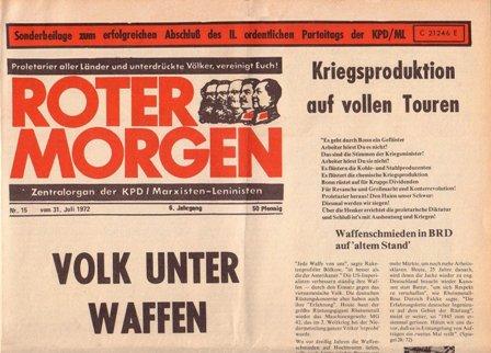 Roter Morgen, 15/1972, Extra, S. 1 oben