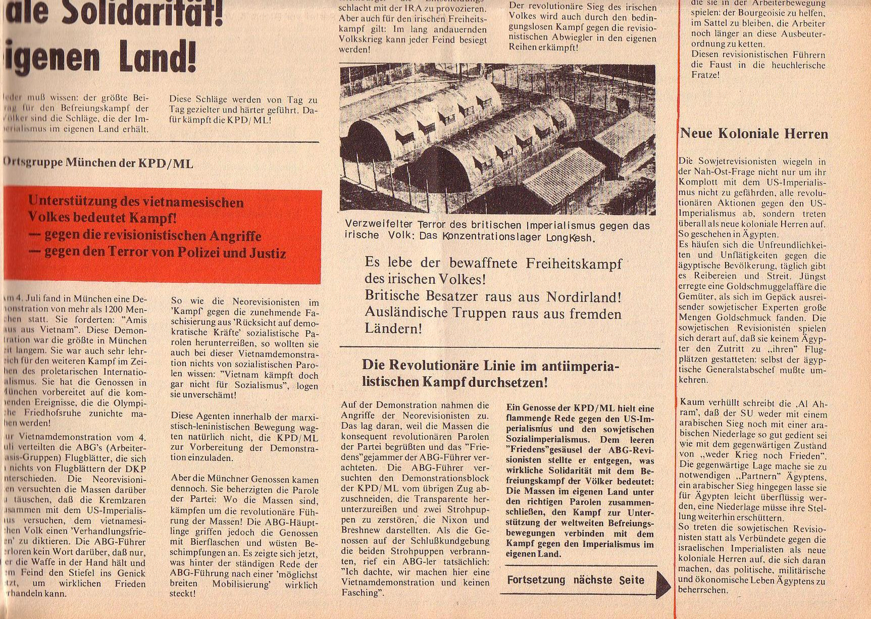 Roter Morgen, 6. Jg., 31. Juli 1972, Nr. 15, Seite 7b