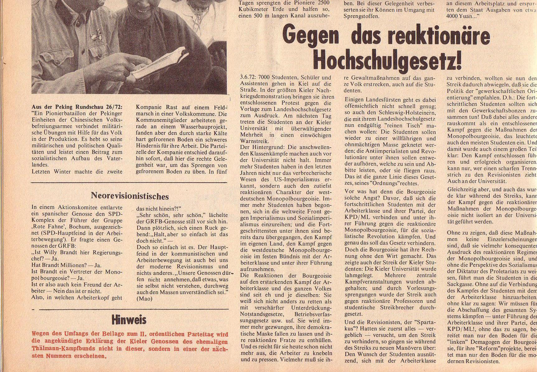 Roter Morgen, 6. Jg., 31. Juli 1972, Nr. 15, Seite 12b