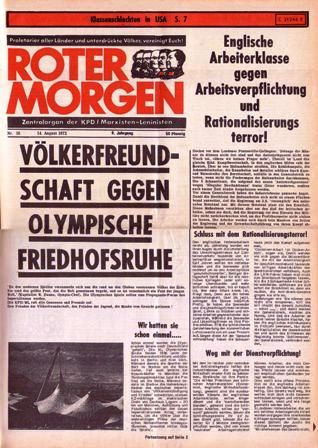 Roter Morgen, 16/1972, S. 1