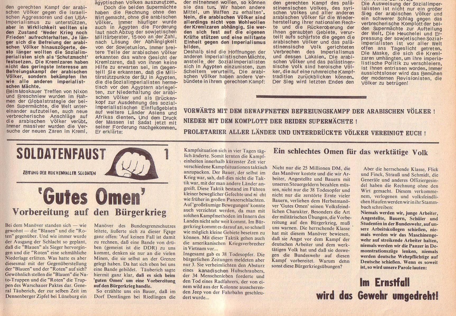 Roter Morgen, 6. Jg., 14. August 1972, Nr. 16, Seite 5b