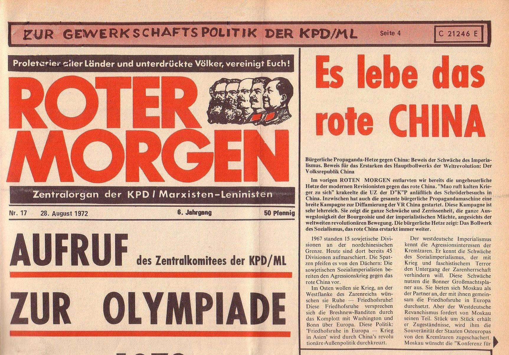 RM 17/1972, S. 1 oben