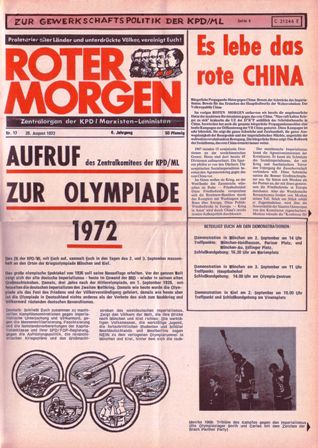 Roter Morgen, 17/1972, S. 1