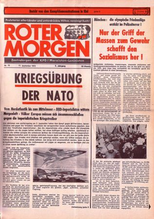 Roter Morgen, 18/1972, S. 1