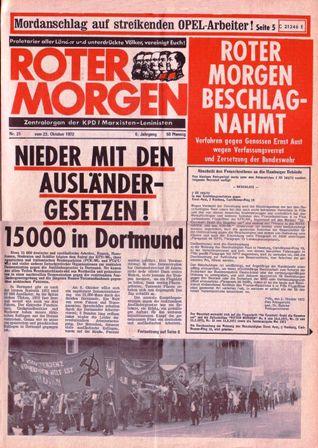Roter Morgen, 21/1972, S. 1