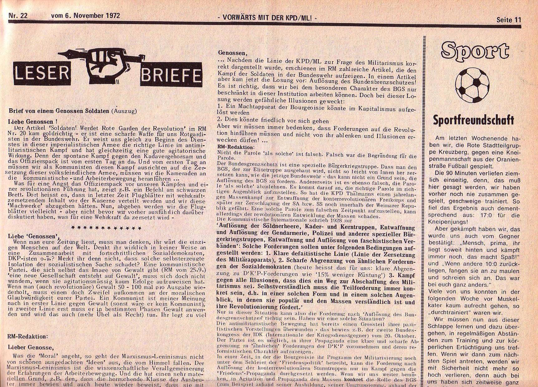 RM 22/1972, S. 11