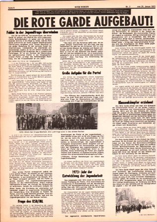 Roter Morgen, 2/1973, S. 6