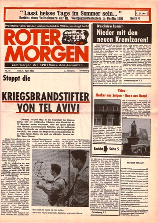 Roter Morgen, 15/1973, S. 1