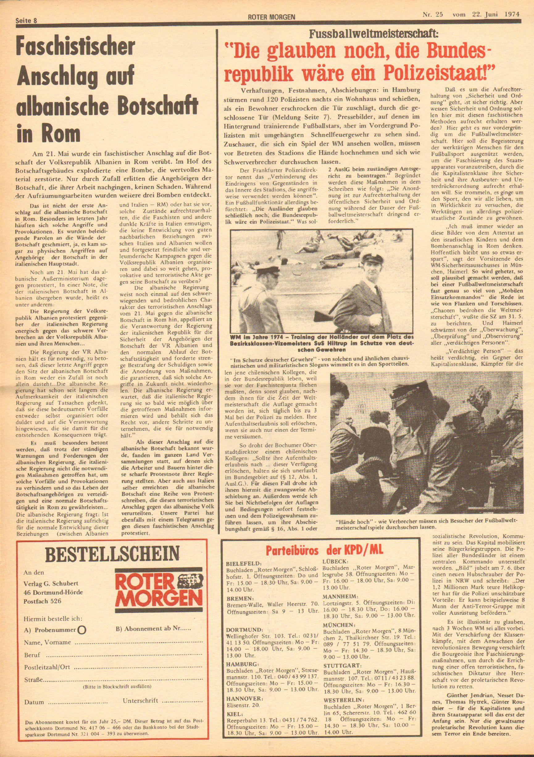 RM 25/1974, S. 8