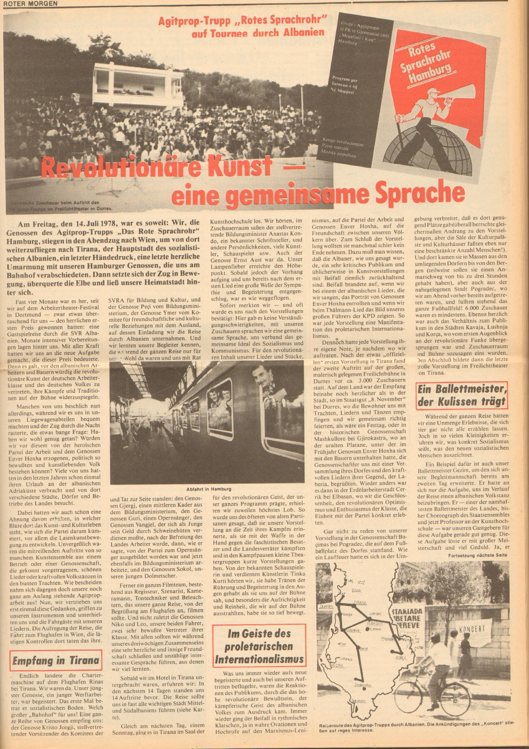 Roter Morgen, 12. Jg., 18. August 1978, Nr. 33, Seite 3