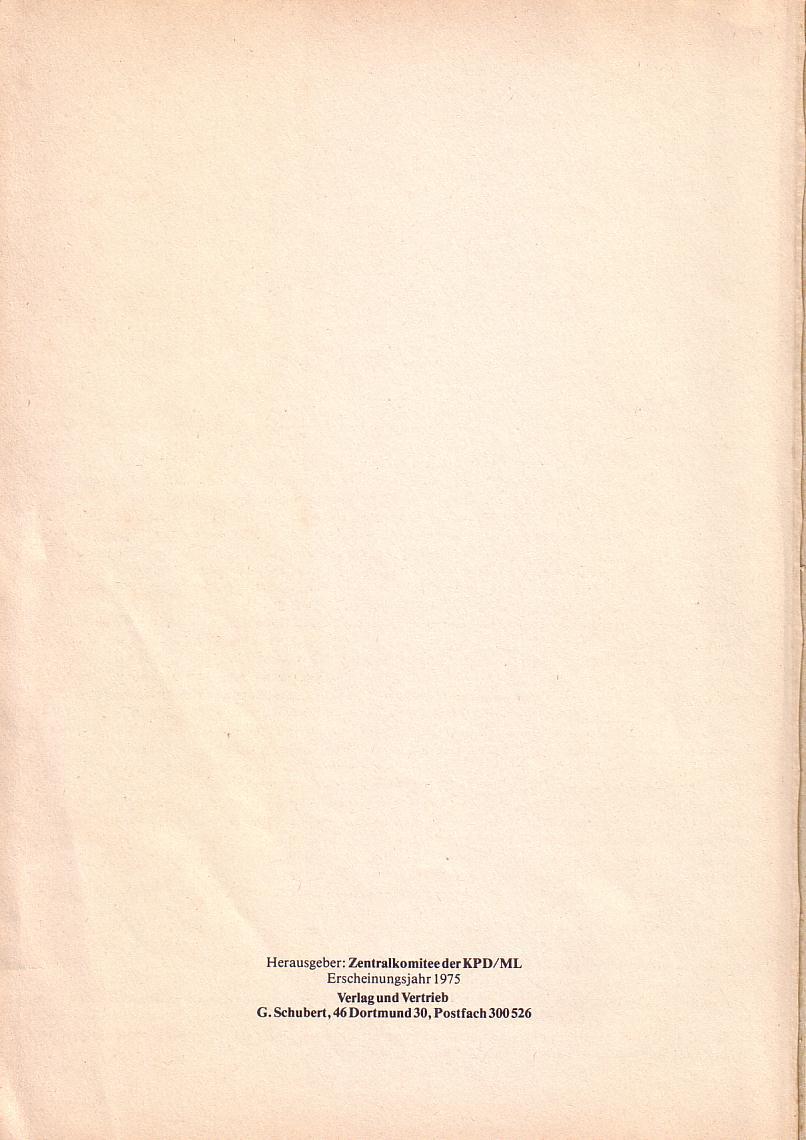 Roter Morgen 1967_1969, Impressum