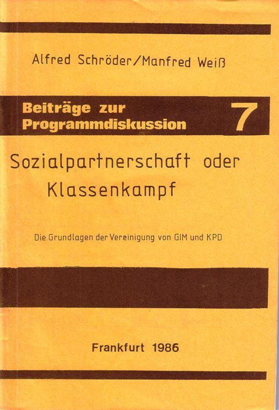 Schroeder_Weiss_Sozialpartnerschaft_01